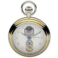 poche Mount Royal Open Face Sun Moon Pocket Watch MR-B35