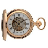 Taschenuhr Mount Royal Half Hunter Pocket Watch MR-B45