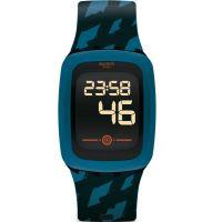 unisexe Swatch Petrozero2 Bluetooth Alarm Chronograph Watch SVQB100