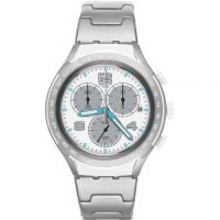 Mens Swatch Pure Attack Chronograph Watch YYS4024AG