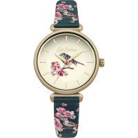 Damen Cath Kidston Scattered Meadowfield Birds Uhren