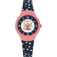 Damen Cath Kidston Mallory Bunch Scattered Spot Watch CKL027UP