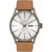Unisex Nixon The Sentry Leather Watch