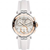 femme Michel Herbelin Newport Chronograph Watch 33656/TR59BLA