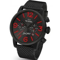 Mens TW Steel Son Of Time Tempus Fury Limited Edition Chronograph 48mm Watch