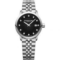 Damen Raymond Weil Freelancer Diamant Uhr