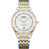 Herren Rotary Ultra Slim Uhr