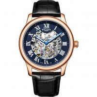 homme Rotary Exclusive Skeleton Watch GS00627/05