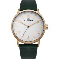 Herren Ben Sherman Biig Portobello Herringbone Watch WB070NBR