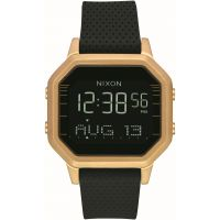 Unisex Nixon The Siren SS Alarm Chronograph Watch