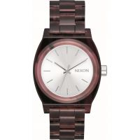 Unisex Nixon The Medium Time Teller Acetate x Mazzucchelli Watch A1214-200