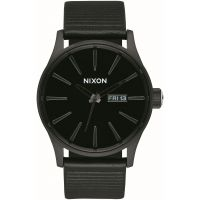 homme Nixon The Sentry Leather Watch A105-1147