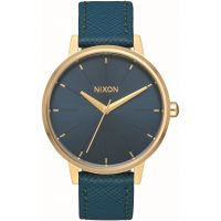 femme Nixon The Kensington Leather Watch A108-2816