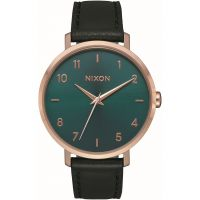 Nixon The Arrow Leather Damklocka Svart A1091-2805