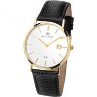 Herren Accurist Gold Watch 7801