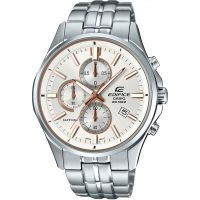 Casio Edifice Sapphire Herenchronograaf Zilver EFB-530D-7AVUER