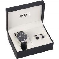 Herren Hugo Boss Geschenk-Set Uhr