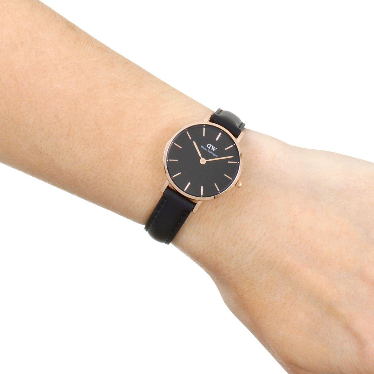 daniel wellington classic petite 28 sheffield black orologio da dw00100224 it watch shop. Black Bedroom Furniture Sets. Home Design Ideas