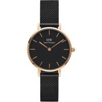 Ladies Daniel Wellington Petite 28 Ashfield Black Watch