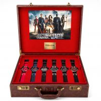 Police Justice League Limited Edition Heroes Box Set Herrklocka Flerfärgad 14536JS/SET