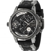 homme Police Justice League Limited Edition Watch 14536JQ/02P