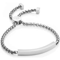 Ladies Abbott Lyon Silver Plated Bar Chain Bracelet AL3333
