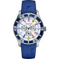 Herren Nautica NST07 Flagge Uhren