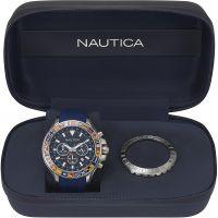 Herren Nautica Bali Box Set Chronograph Watch NAPBLI001
