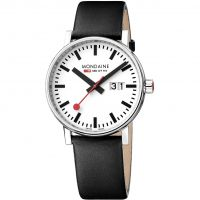 Mens Mondaine Swiss Railways Evo2 40 Big Date Watch MSE40210LB