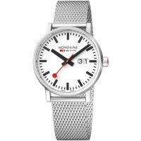 homme Mondaine Swiss Railways Evo2 40 Big Date Watch MSE40210SM