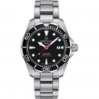 Herren Certina DS Action Diver Powermatic 80 Watch C0324071105100