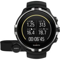 Unisex Suunto Spartan Wrist HR Barometer Bluetooth Chest Strap Set Alarm Chronograph Watch