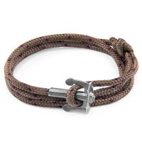 Anchor & Crew Brown Union Bracelet JEWEL AC.SI.UN16
