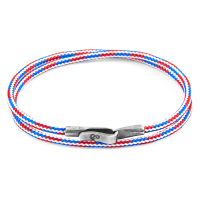 Anchor & Crew Red, White & Blue Liverpool Bracelet JEWEL AC.DO.LI14