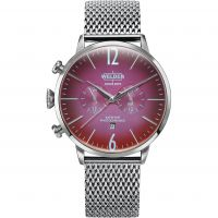 Welder The Moody 45mm Dual Time Unisexklocka Silver K55/WWRC404