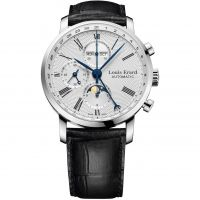 Herren Louis Erard Excellence Moonphase Chronograph Watch 80231AA21.BDC51