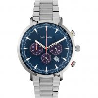 homme Paul Smith Track Chronograph Watch PS0070012