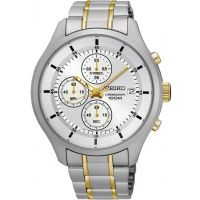 Mens Seiko Sports Chronograph Watch SKS541P1