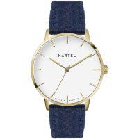 unisexe Kartel Scotland Lewis 40mm Cashmere Watch KT-LEW-GFN-BR