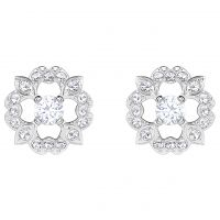 Gioielli da Swarovski Jewellery Sparkling Dance Flower Stud Earrings 5396227