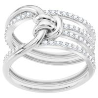 femme Swarovski Jewellery Lifelong Ring Size N Watch 5392183