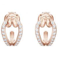 femme Swarovski Jewellery Lifelong Small Hoop Earrings Watch 5392920