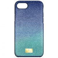 Ladies Swarovski High Ombre Blue Iphone 7 Plus Case