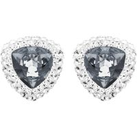 Ladies Swarovski Silver Plated Begin Stud Earrings 5079320