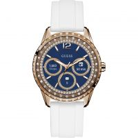 femme Guess Connect Android Wear Bluetooth Alarm Chronograph Watch C1003L1