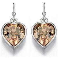 femme Fiorelli Jewellery Heart Earrings Watch XE4521