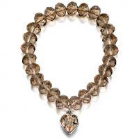 Fiorelli Jewellery Heart Charm Bracelet JEWEL XB4274