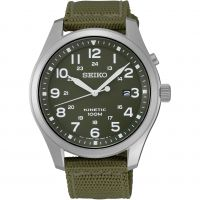 Mens Seiko Kinetic Kinetic Watch SKA725P1