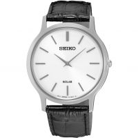 Mens Seiko Solar Solar Powered Watch SUP873P1
