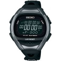 Herren Seiko Alarm Chronograph Watch SBEF031J
